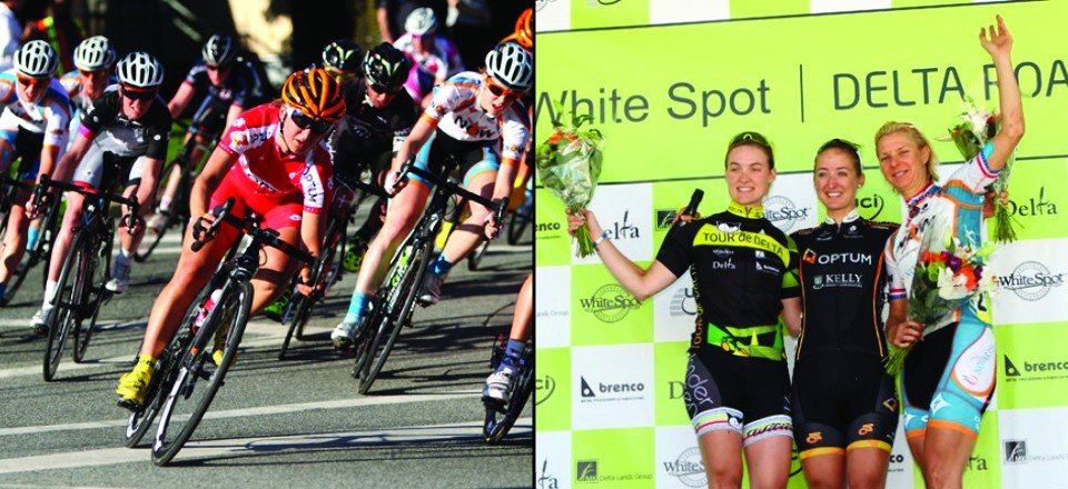 <h2>Leah Kirchmann Emerges Victorious at the 2013 White Spot Delta Road Race!</h2>